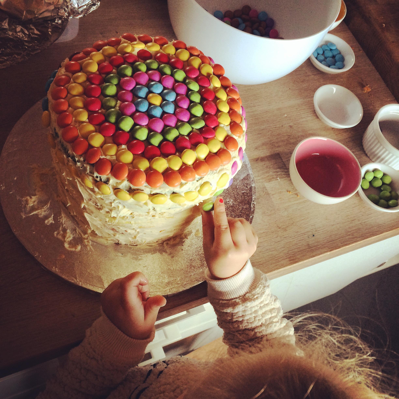 Rainbow cake | Rosie & Ruby love